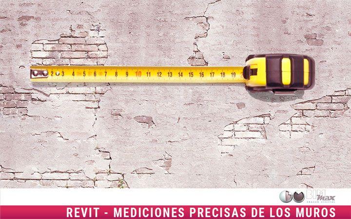 Revit mediciones muros